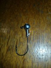 1/4oz Round Jig Heads Reverse Barbed Collar 2/0 Eagle Claw Hooks 10 Pk