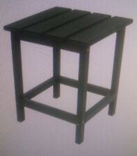 "Polywood ECT18GR Long Island 18"" Green Side Table Outdoor 15"" x 15"" x 18"""