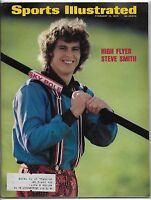 February 12, 1973 Sports Illustrated Magazine-Steve Smith front cover!