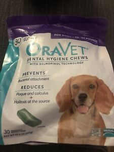 Oravet Dental Hygiene Chews Medium Dogs 25-50lbs 30ct By Merial