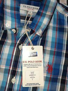 US POLO ASSN Short Sleeve Shirt Mens Small BNWT