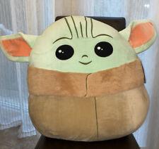"Brand New Rare Star Wars Mandalorian Baby Yoda Squishmallow 20"" XL NWT"