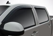 Tape-On Wind Deflectors for 2001-2007 Chevy Silverado 2500/3500 Classic Crew Cab
