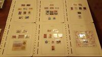 Año completo sellos de España 1994 hojas Leuchtturm A1