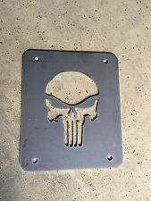 Jeep Wrangler TJ Tailgate Spare Tire Delete Plate 1997-2006 Punisher Plate
