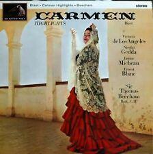 Carmen Highlights LP (UK 1960) : Bizet