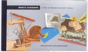 GB 1999 World Changers a Tale of British Scientific Genius Prestige Booklet