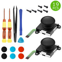 2 Pack Thumb Stick Joystick Replacement 3D Analog For Nintendo Switch NS Joy-Con
