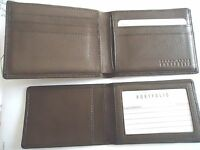 Buxton Heiress Convertible Coin Billfold Genuine Leather Wallet,Aqua