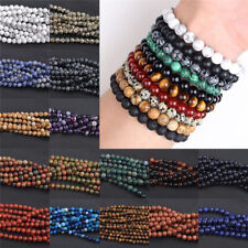 Newest Lot Natural Gemstone Round Spacer Loose Beads 4MM 6MM 8MM 10MM 12MM
