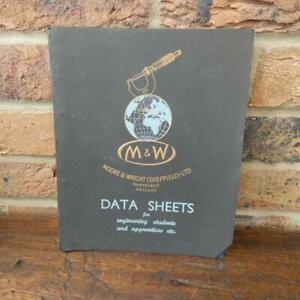 Tool Catalogue/Book - M&W Data Sheets for Engineering Students
