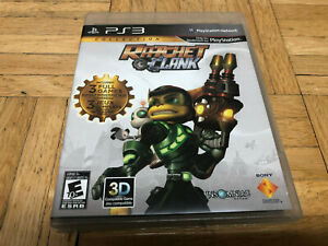 RATCHET & CLANK PS3 COLLECTION 3 Games Sony Playstation 3 OOP RARE!