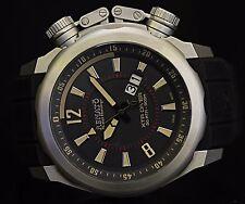 Renato 48mm XTR Diver Swiss Made Ronda 519 Quartz Polyurethane Strap Watch