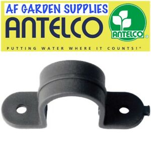 Pipe Clamp Clip / Saddle for 13mm LDPE Pipe/Tube, Garden Irrigation/Hydroponics