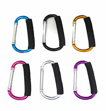 Multi Purpose XL Durable Mommy Hooks Stroller Accessory for Walking Shopping