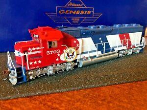 HO Athearn Genesis Santa Fe Bicentennial SD45-2 #5703 DCC Ready