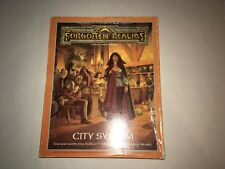 Vintage 1988 Advanced D&D Forgotten Realms City System TSR  !00% complete