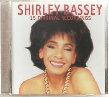 SHIRLEY BASSEY 25 ORIGINAL RECORDINGS CD ALBUM