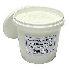 1kg Tub Fine Pure White Silica Gel Desiccant Granules for Flower Drying etc