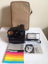 Vintage Polaroid Land Camera Special Edition SE Sonar One-Step Instaflash & Case