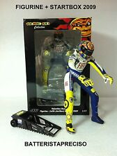 MINICHAMPS VALENTINO ROSSI 1/12 FIGURINE SET WITH STARTBOX 2009 LIMITED 2352 PZ