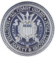 MSST 91103 Los Angeles pewter W4905 Coast Guard patch