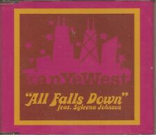KANYE WEST feat. Syleena Johnson - ALL FALLS DOWN 2 TRACKS CD Single PROMO