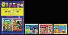 MALAYSIA 2006 Festivals 3v stamps set + MS-SS MNH @B344