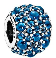 Blue Crystal - 791755Nlb Pandora Shimmering Droplets London