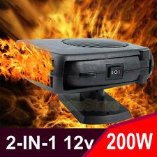 DC12V 200W Car Heater Cooler Fan Air Warmer Window Windscreen Demister Defroster