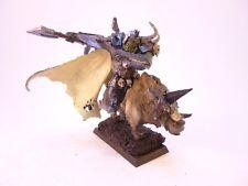 Warhammer Fantasy AOS Sigmar Orc Warboss on Boar Metal OOP Rare