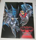 """1997 BATMAN & ROBIN Dealer Promo Poster 17"""" x 22"""" DC Comics"""