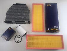Filtro de aceite 2 x filtro de aire (frase) filtro de carbón activado w204 s204 c230 c280 c350 c350cgi