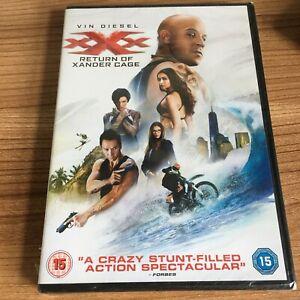 XXX Return of Xander Cage DVD NEW & SEALED Vin Diesel Cert 15 Region 2 UK
