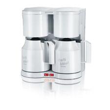 Severin KA 5827 Weiss Duo-Filter-Kaffeemaschine Schwenkfilter 800 W Teefilter