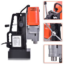 J1C-25 1350W 25mm Magnetic Base Drill Press Boring 15000N Magnet Force Tapping