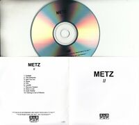 METZ II 2015 UK 10-trk promo test CD