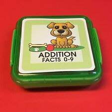 Puppy - Addition Facts 0-9 Matching Game 48 Cards with Storage box