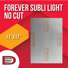 "Forever Subli Light (Not Cut) 11""x17"" 50 Sheets FREE SHIPPING"