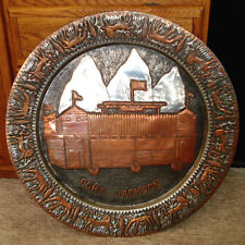 Mixed Metals Fort Jackson Tetons Wyoming Massive Wall Charger Copper Silver