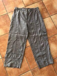JEAN MARC PHILIPPE leichte 7/8 Hose geniale Details Gr. T6 46 48 Lagenlook TRAUM