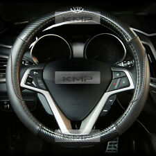 370mm Real Carbon Steering Wheel Cover Urethan for KIA 2008-2013 Forte Koup
