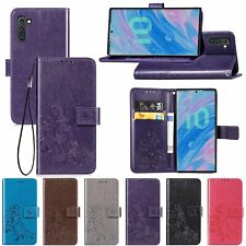 Magnetic Leather Flip Wallet Phone Case Cover for Samsung Galaxy S8 S9 Note 10+