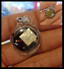 Rare Thai Amulet Charming Billionaire wealthy Coin oil powerful By Lp Arjarn O