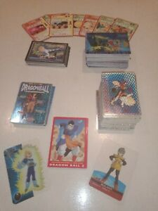 Lot 302 Cartes Dragon Ball Z GT Vintage ITA Comme Neuf
