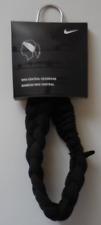 Nike Dri-Fit Central Headband Braided Black/White Mens Women's OSFM