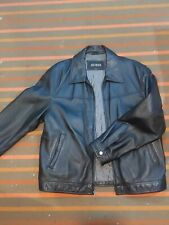 Guess Genuine Leather Jacket Good Condition