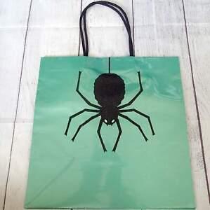Papyrus Gift Bag Halloween SPIDER Glitter New