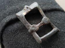 Tudor bronze/guilded buckle rare 1500 hundreds artifact L388