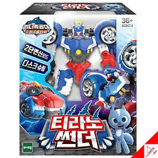 Mini Force Super Dino Power TYRANNO THUNDER Transformer Car Robot Figure